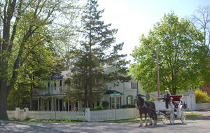 LA TOSCANA DI CARLOTTA AT BURNS HOUSE a Bed and Breakfast in Niagara on the Lake.  Where History Meets Hospitality! (SM)