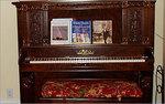make music - mahogany piano