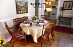 Dining area adjoining sitting room